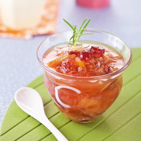 柚香蔓越莓醬,酸甜好滋味|台灣好食材...