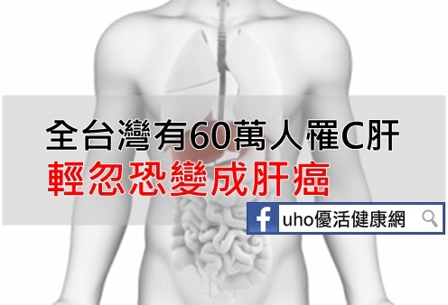 全台灣有60萬人罹C肝輕忽恐變成肝癌...