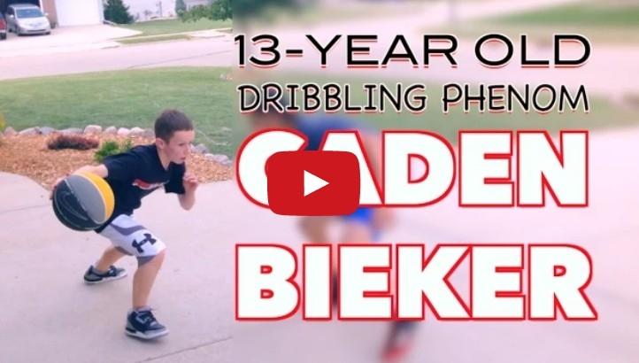 13歲的籃球神童真的太猛了,看完之後真的不知道自己打的是不是...