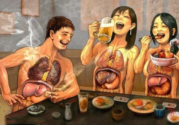 一次喝醉,身體九個器官都受罪!別再糟蹋自己的健康了,好嗎?...