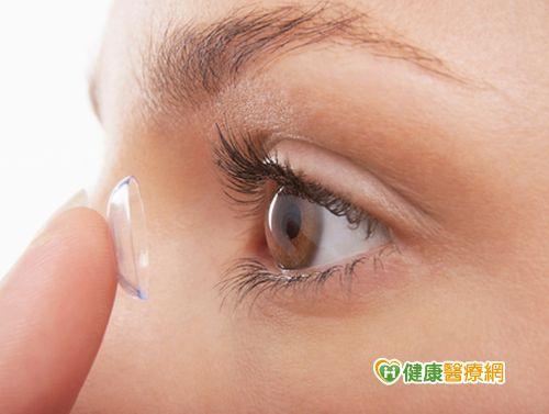 自來水洗隱形眼鏡國中生險失明...