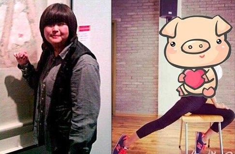 比化妝整容更驚豔!女大學生3年減重54公斤,人生從此大逆轉...