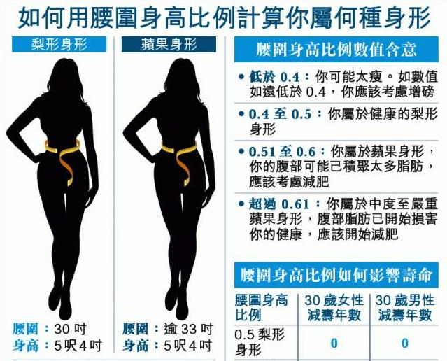 準確預測壽命:腰圍勿過身高一半!大肚腩可隨時折壽17年...