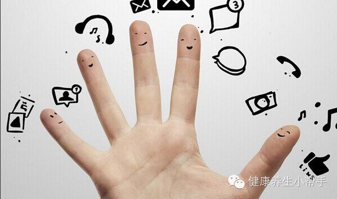 """㊙你所有的""""秘密""""都在五個指頭上,神奇的五指養生!..."""