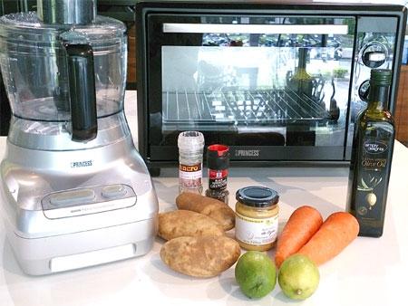 烤箱料理:現學大廚的烤蔬菜薯餅...