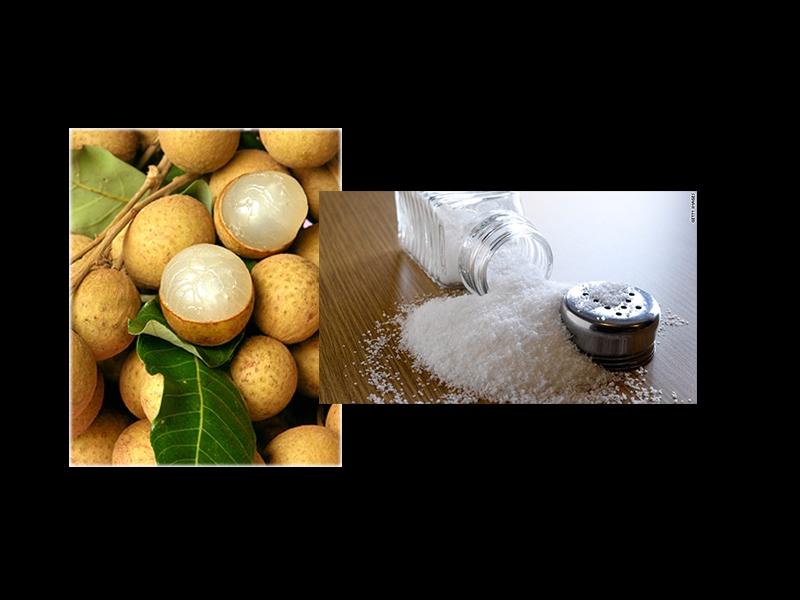 吃了那麼多年的「桂圓」!!今天才知道加了「塩」它會有超強攻效...