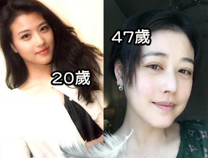 她竟然47歲!!「周海媚」素顏嚇呆網友!!20歲般嬌嫩膚質是...