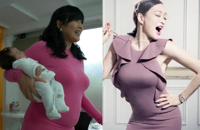 三個孩子的媽四十歲女人減肥法,鐘麗緹瘦身秘籍大分享...