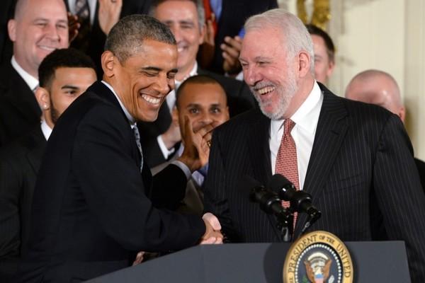 歐巴馬糗馬刺波總「養生籃球」:讓副總統來見你們網友爆笑:高級...