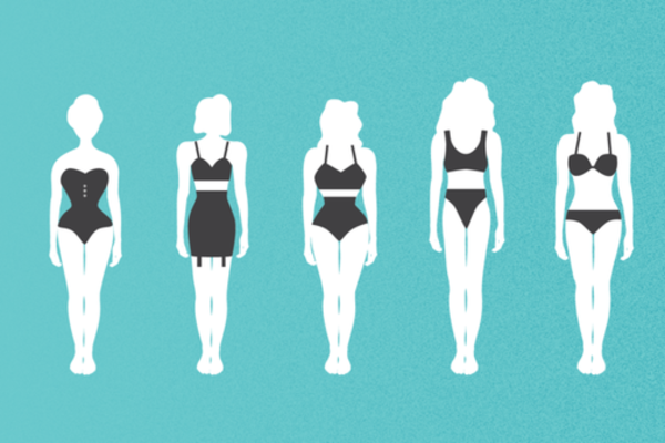女性對於「完美體態」的標準可不只是你想的那樣這100年來幾乎...