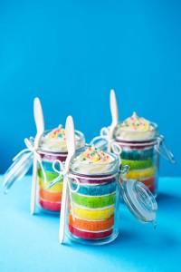 滿足少女心簡單又有品味的「瓶裝蛋糕」製作方法........