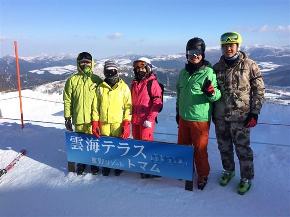 現場直擊TOMAMU滑雪場年味濃...