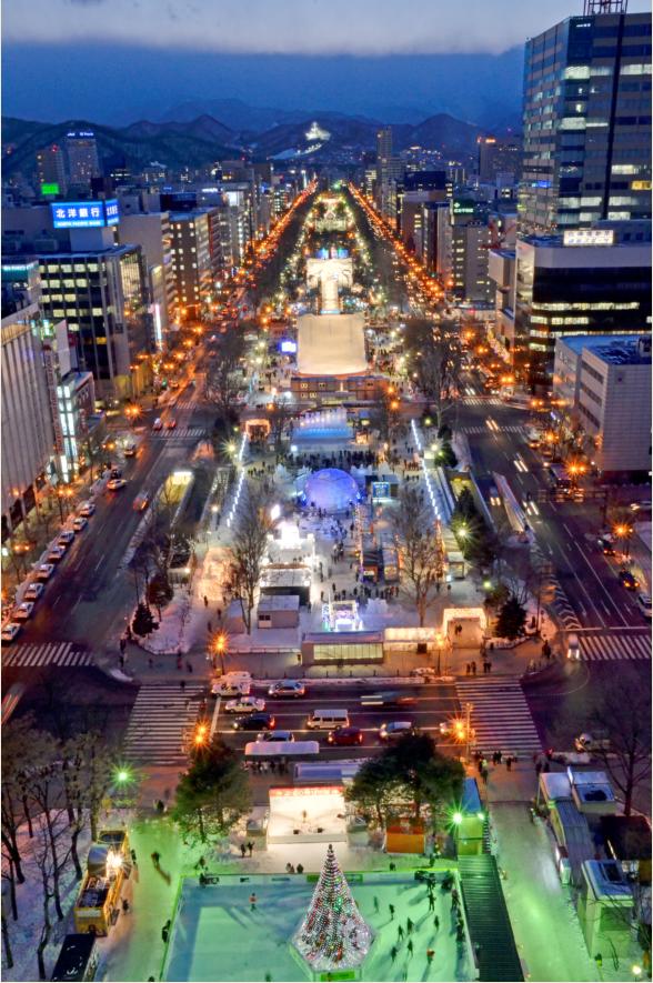 小編帶你共赴日本銀白雪祭歡樂慶典,真的太漂亮了!...