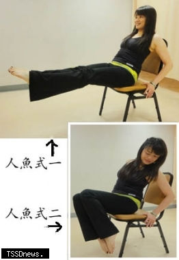 仰臥起坐訓練腹肌...