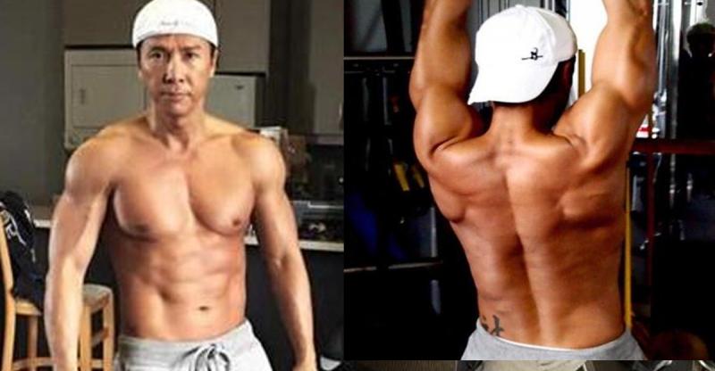53歲「甄子丹」曬出傲人八塊肌,他自爆健身絕招竟是絕對不吃「...