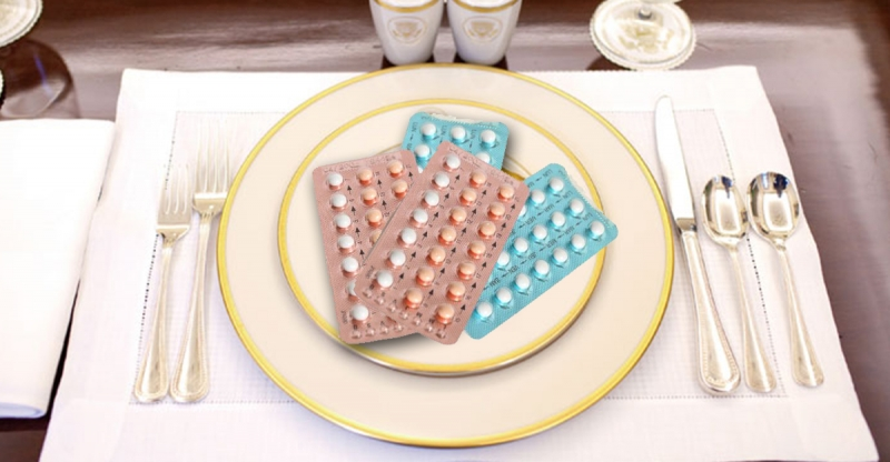 餐桌上的避孕藥,每天都在吃,你知道嗎?!...