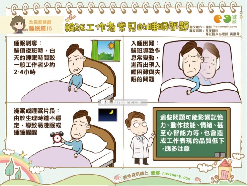輪班工作者常見的睡眠問題|全民愛健康睡眠篇15...