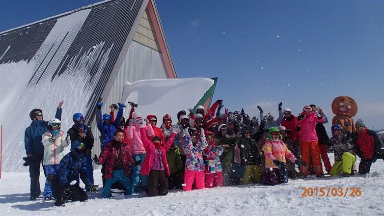 現場直擊邱比特滑雪場尋找愛的力量...
