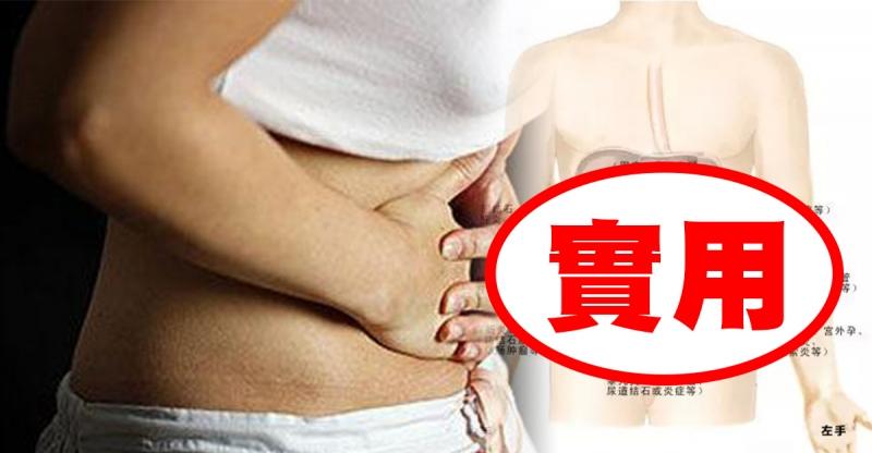 肚子疼不容小覷,一張圖告訴你肚子疼的各種可能!還不快收藏起來...