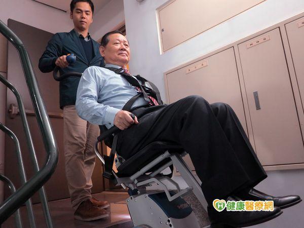 撐桿式電動爬梯機獲核准身障最多補助8萬...
