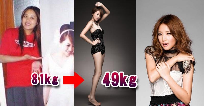 老公一句:妳好胖!!讓A-lin下定決心狂減32公斤,甩肉全...