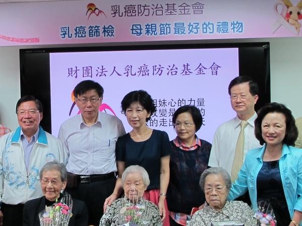 乳癌篩檢率偏低台北市婦女發生率亞洲居冠...