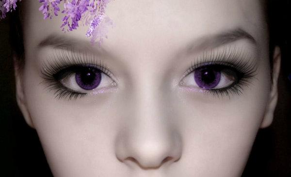 絕非修圖或變色片!世上有絕美「紫眼」的人只有600個…據說有...