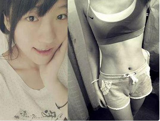 從72斤瘦到54斤,她的秘訣只有一個----就是「吃吃吃」!...
