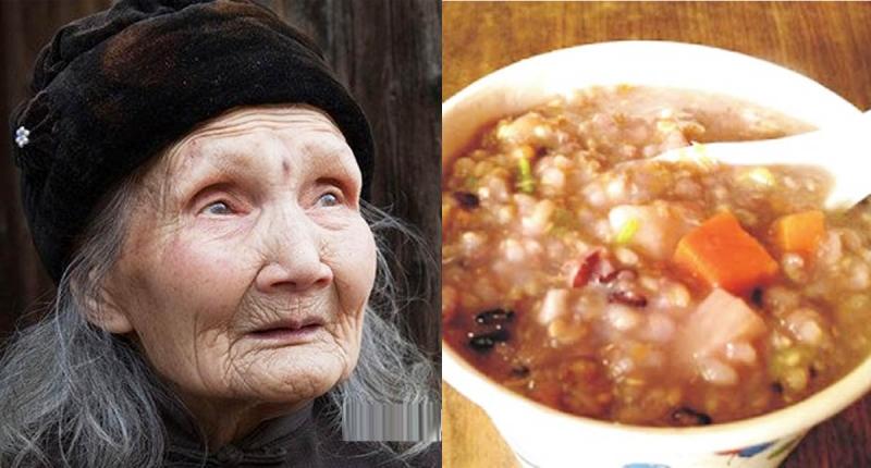 95歲無斑老人,靠的是一碗神奇的粥!...