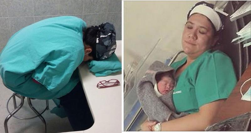 網友把醫生上班睡覺的照片上傳網路罵她偷懶…許多醫生看到後決定...