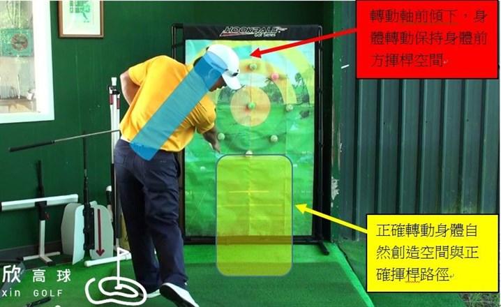 精準擊球系列-協調身體與手部改善揮桿不順暢的問題...