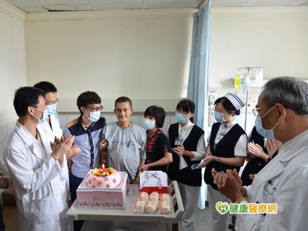 接力活肝移植手術父子成功換肝...
