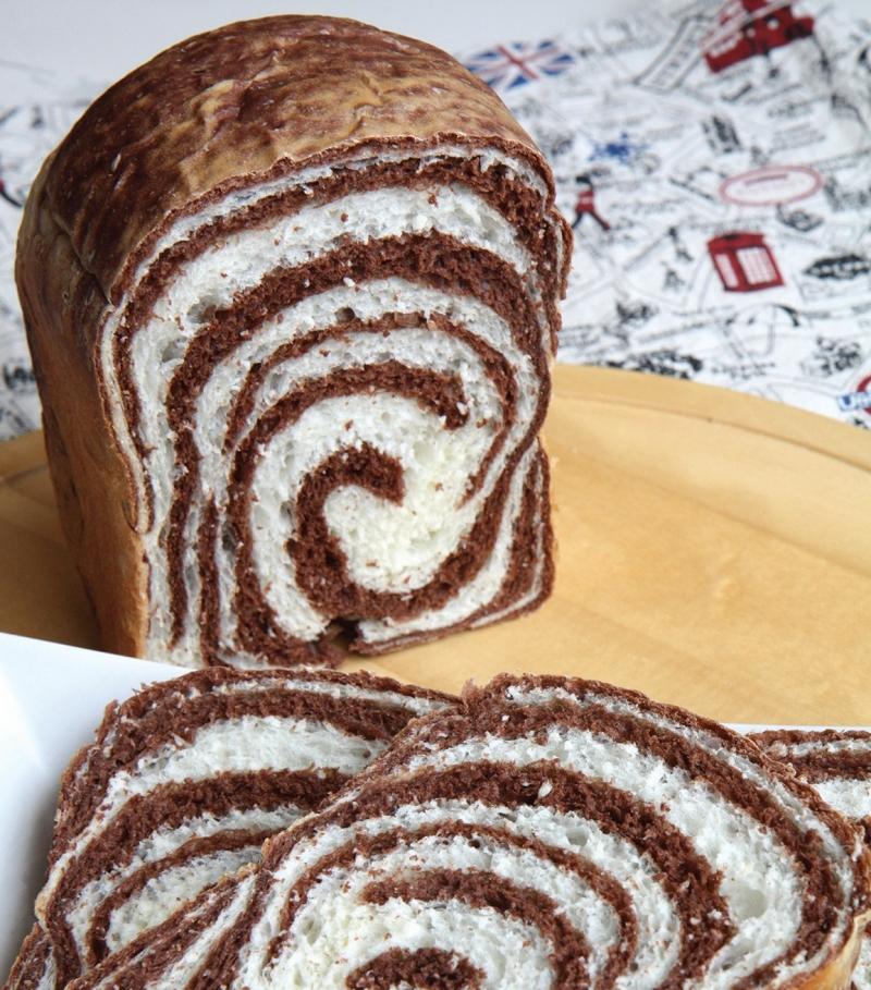 【麵包機迷必看】《巧克力漩渦吐司》大人、小孩就愛這一味!...