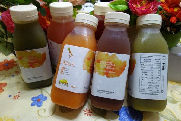 營養師輕食冷壓蔬果汁淨化系列,用有機蔬果汁調配好一整天的營養...