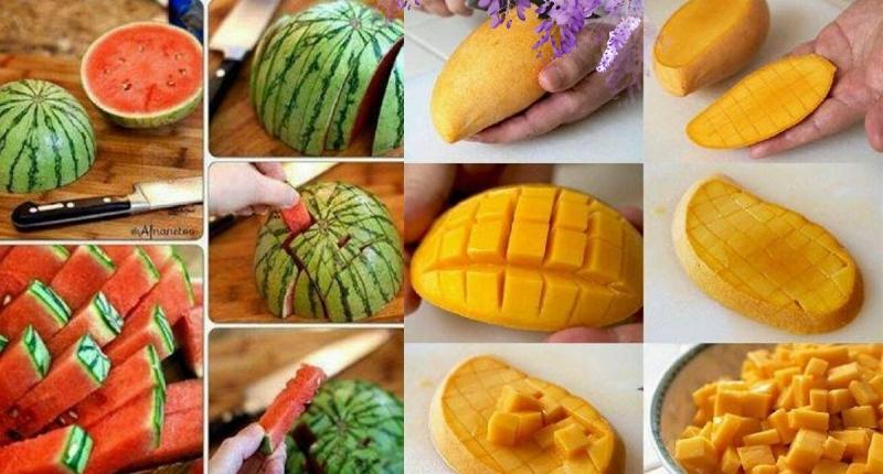 你切水果的方法錯了好久!奇異果、芒果、鳳梨、橘子、西瓜這樣切...