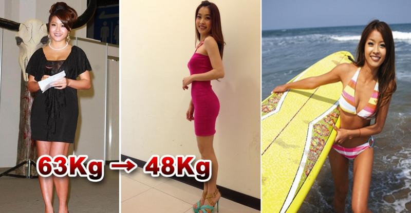 狠甩15公斤,小嫻靠『303040』這個祕訣,成功瘦回48公...