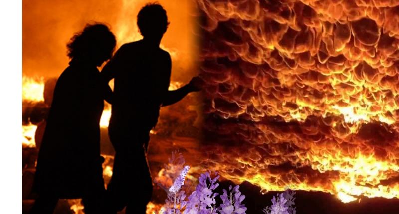 太感人!八仙現場一爆炸,男友馬上轉身緊抱她,不顧自己傷勢嚴重...