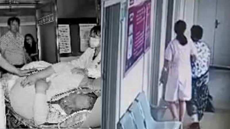 60歲老太走進診所治療一小時後竟然被醫護人員抬著出來...離...
