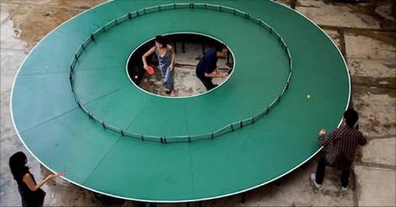 能令鄧亞萍低頭的乒乓球桌終於出現了!就算是現今世界第一看見也...