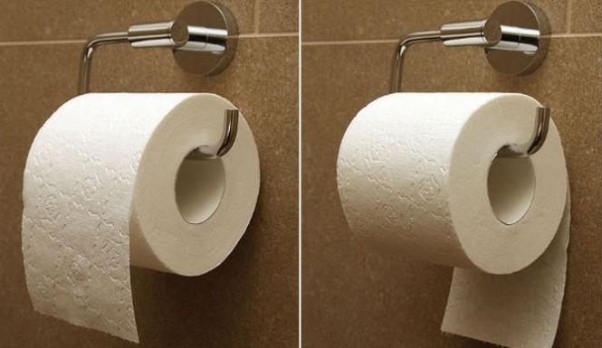 捲桶衛生紙應該「朝內」放還是「朝外」?許多公廁都放錯了!!...