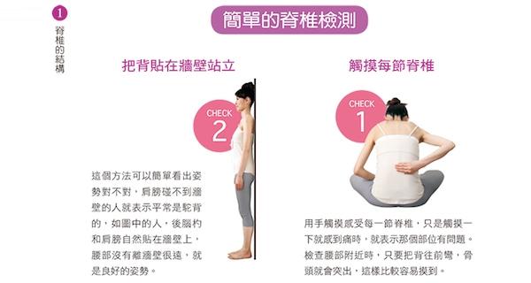 在家就能做的『簡單脊椎檢測』,調整脊椎改善病痛...