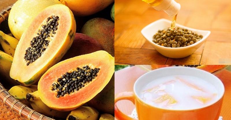 不要再把〝木瓜籽〞丟掉了!它可以保肝、保腎,甚至是對抗癌症!...