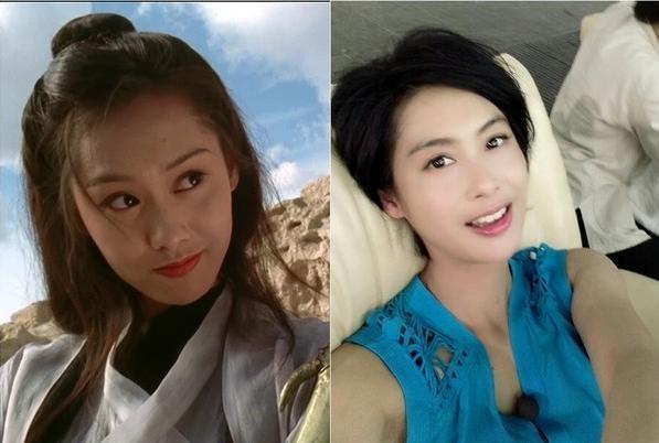 朱茵未曾公開分享過的保養秘方,永遠明媚動人的紫霞仙子,43歲...