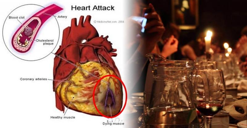 因為飯後的這一杯,讓很多人心臟病發?!幾乎80%的人都會在飯...