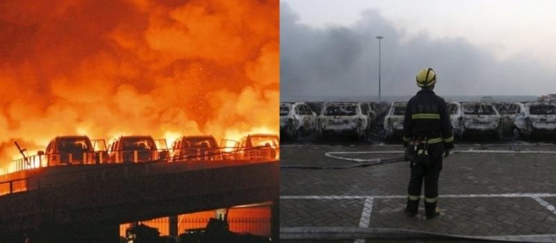 日本消防員看天津爆炸時說的最多的『一句話』連東京的消防隊長都...