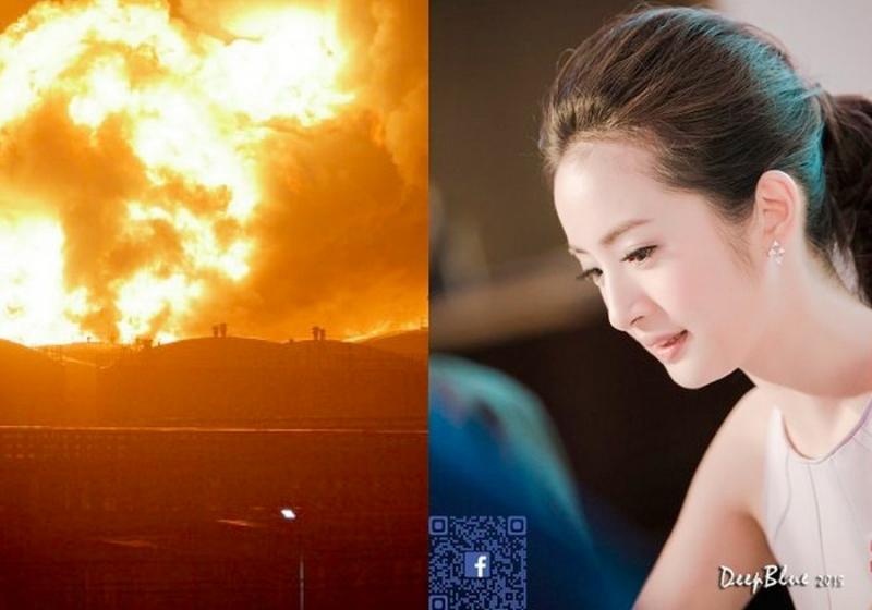 天津爆炸後第一個敢於問責的藝人,林依晨的『一句話』打醒10億...