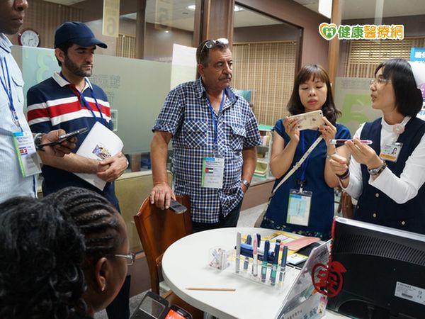 20國醫療人員赴大林慈濟醫院了解慢性疾病防治...