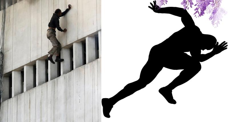 從6樓墜下後,他竟馬上起身跑了200公尺,隨後又倒下…背後的...