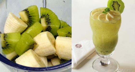 奇異果跟香蕉打成汁竟能「狂排宿便」!加上一樣東西,更能美白!...