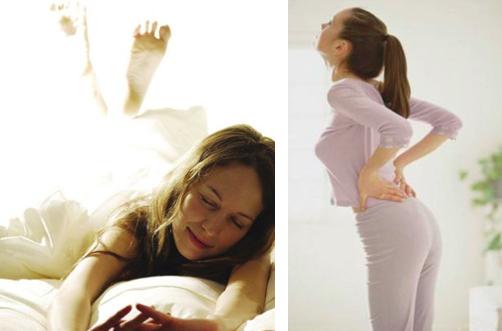 每天早上睡醒都「腰痛」想不到是這個原因...睡醒立馬做一個動...